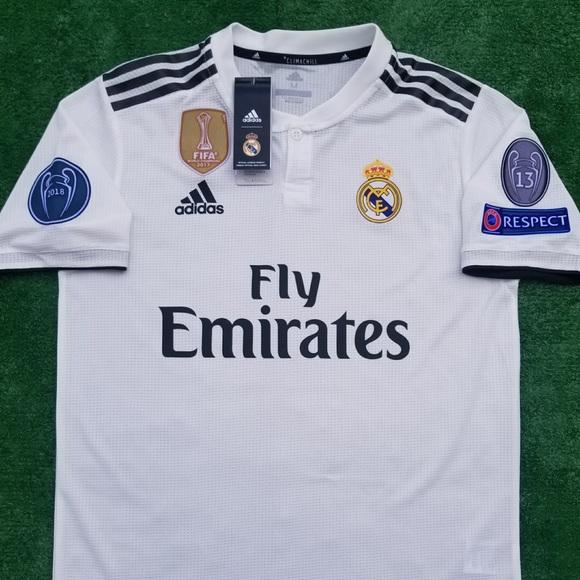 4e98a853e 2018 19 Real Madrid soccer jersey Isco